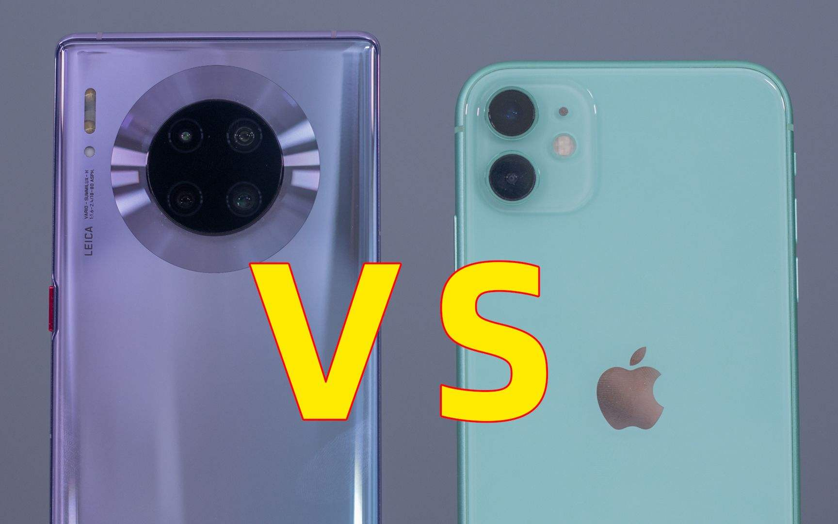 华为Mate30 VS iPhone11,谁更值得买?