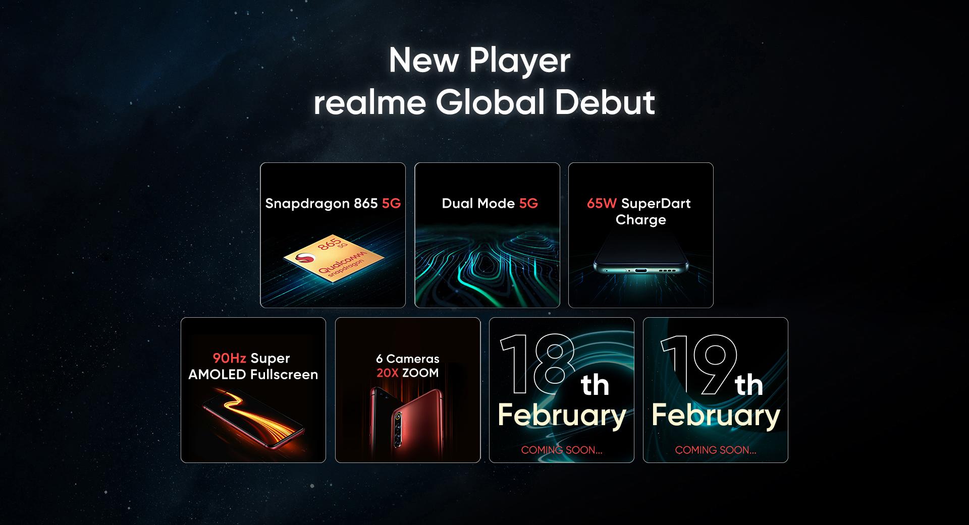 realme官方公布了5G旗舰realme真我X50 Pro的相机信息