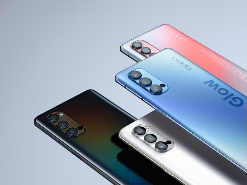 2020年最轻5G手机—OPPO Reno4手机在线回收价格参考