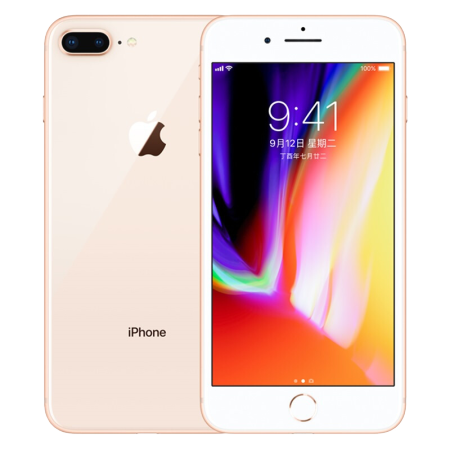 iPhone8plus 国行 金色 256g
