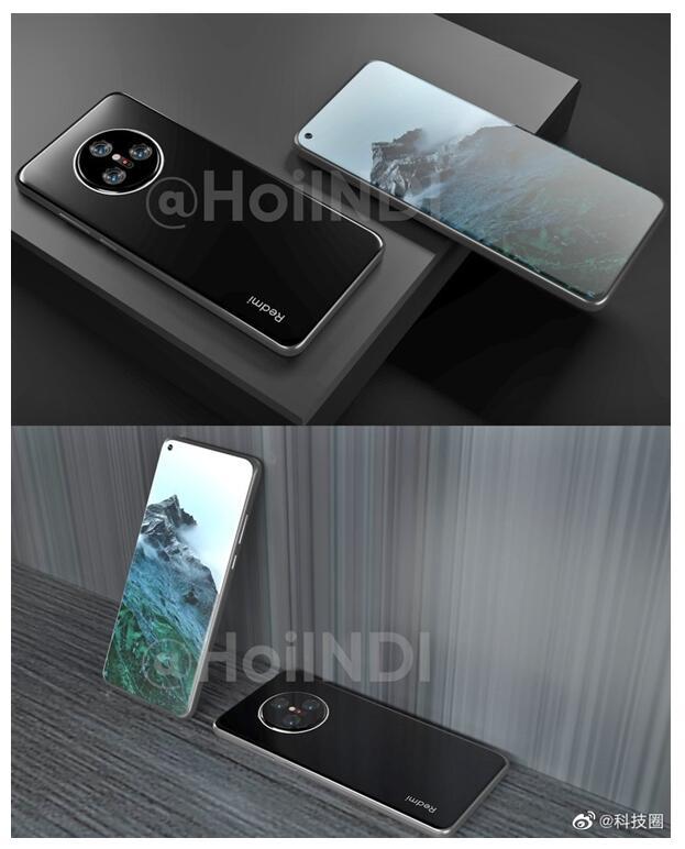 手机速回收网:Redmi K50系列的真机渲染图,大家看看就好
